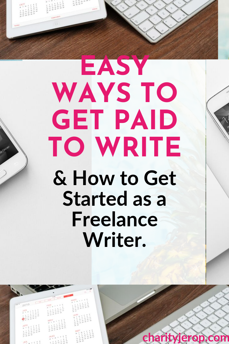 Defination of freelance writing and how to get paid to write.
