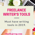 Freelance writer's Tools: Must-Have Tools (Updated)
