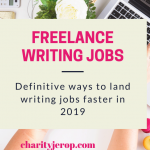 Freelance Writing Jobs: Ways to Find Writing Jobs In 2021(Definitive Guide)
